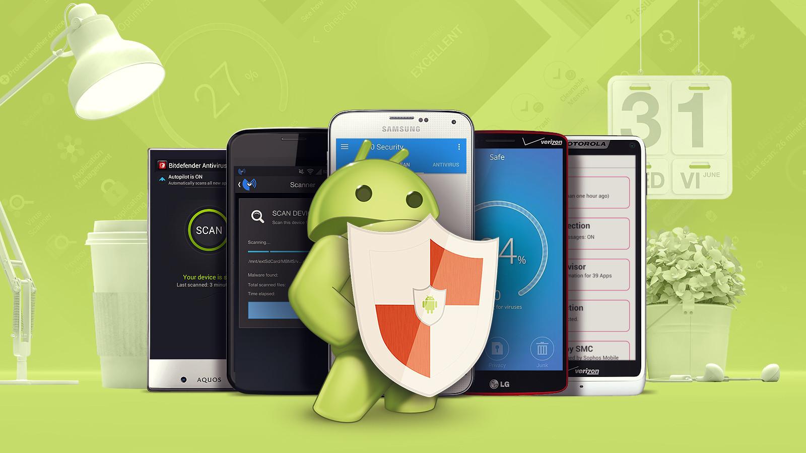 Антивирус для Андроид
