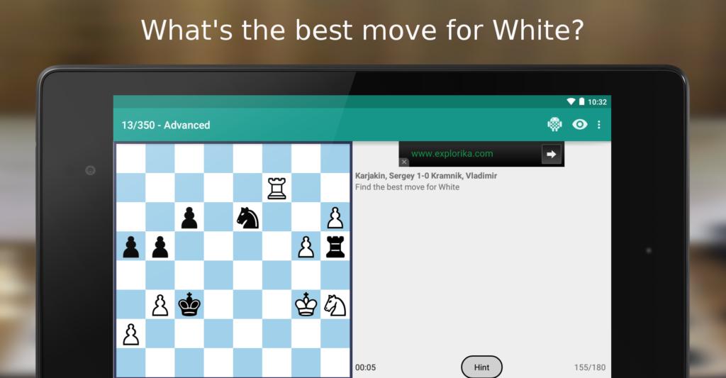 iChess - Chess Puzzles:Tactics big
